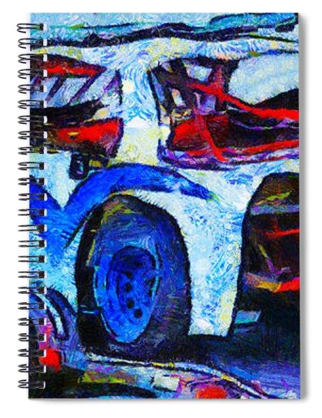 Daytona Bound Number 29 Spiral Notebook
