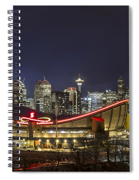 Dazzled By The Light Spiral Notebook