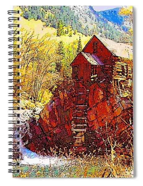 Deadhorse Mill Spiral Notebook