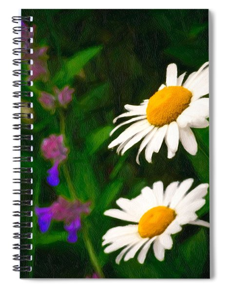 Spiral Notebook featuring the photograph Dear Daisy by Garvin Hunter