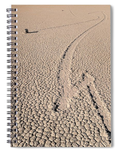 Death Valley Racetrack California Spiral Notebook