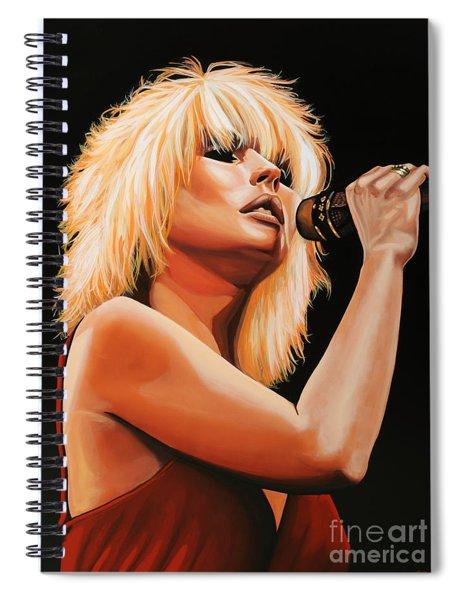 Deborah Harry Or Blondie 2 Spiral Notebook