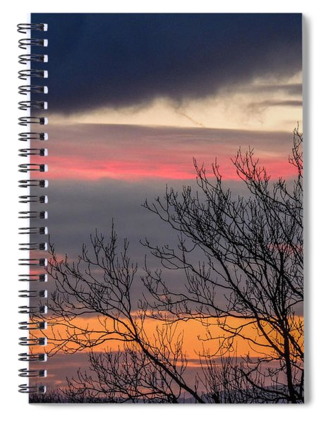 December County Clare Sunrise Spiral Notebook