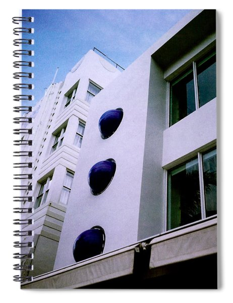 Deco Drive Polaroid Spiral Notebook