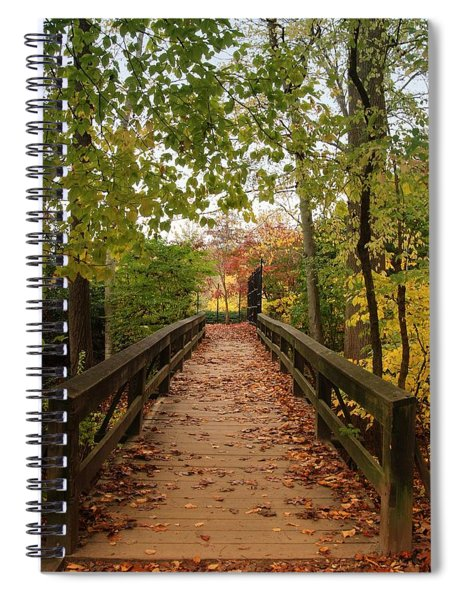 Decorate With Leaves - Holmdel Park Spiral Notebook