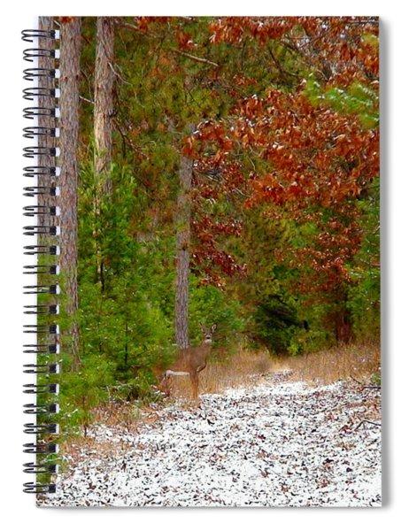 Deer Trail Spiral Notebook