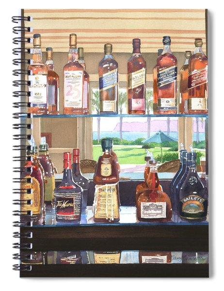Del Coronado Spirits Spiral Notebook
