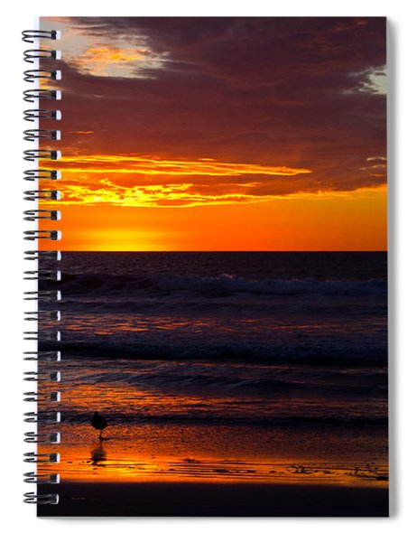 Del Mar Sunset Spiral Notebook