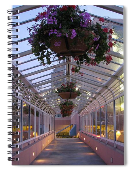 Del Monte Avenue Overpass Spiral Notebook