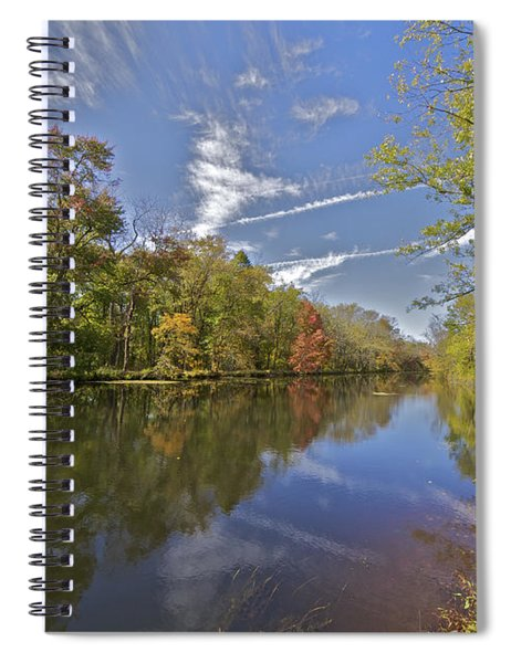 Delaware And Raritan Canal Spiral Notebook