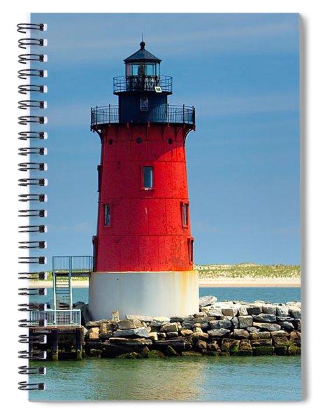 Delaware Breakwater Lighthouse Spiral Notebook