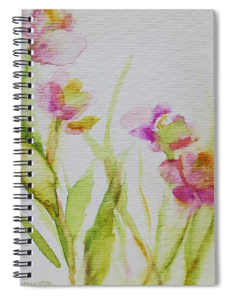 Delicate Blossoms Spiral Notebook