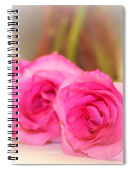 Delicate In Pink  Spiral Notebook