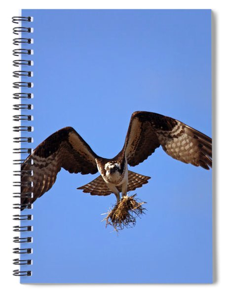 Delivery By Air Spiral Notebook