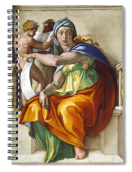 Delphic Sybil Spiral Notebook