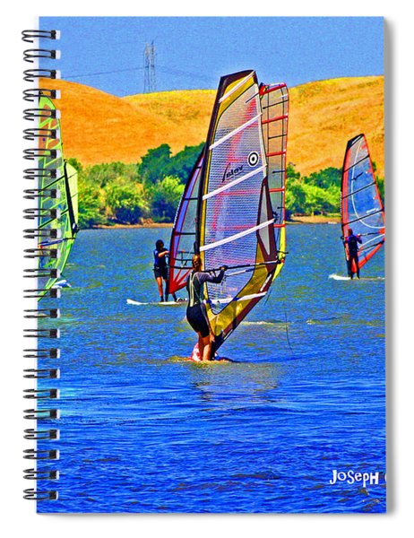 Delta Water Wings Spiral Notebook