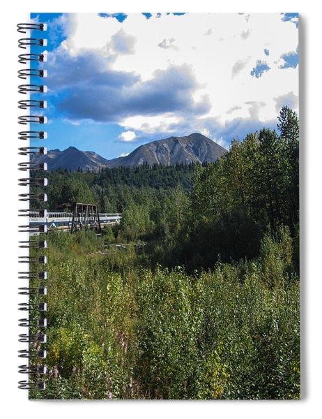 Denali Alaska Spiral Notebook
