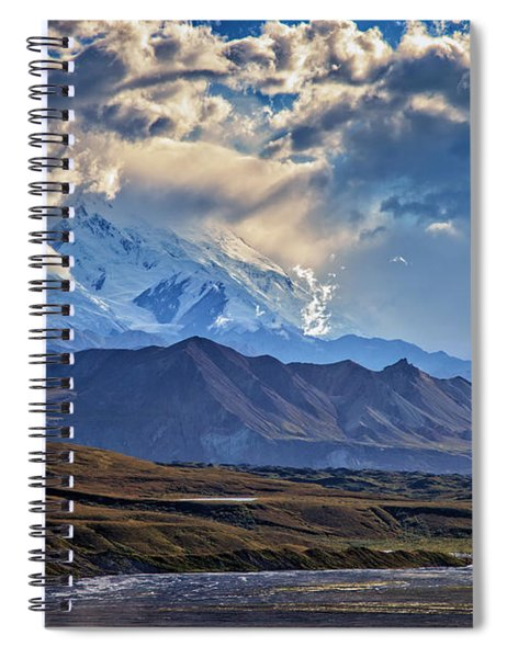 Denali Foothills Spiral Notebook