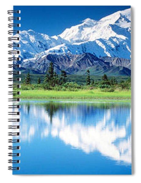 Denali National Park Ak Usa Spiral Notebook