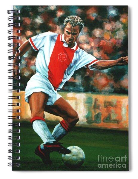 Dennis Bergkamp 2 Spiral Notebook