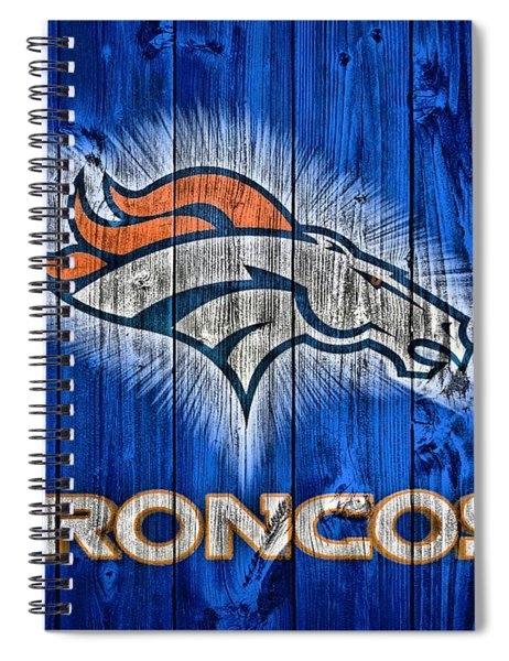 Denver Broncos Barn Door Spiral Notebook
