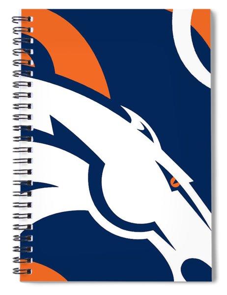 Denver Broncos Football Spiral Notebook