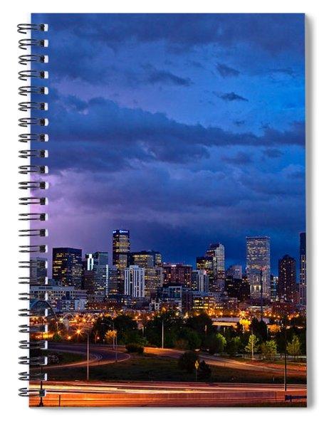Denver Skyline Spiral Notebook