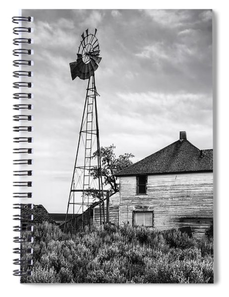 Departed Spiral Notebook