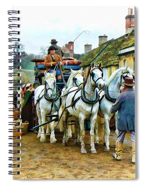 Departing Cranford Spiral Notebook by Paul Gulliver