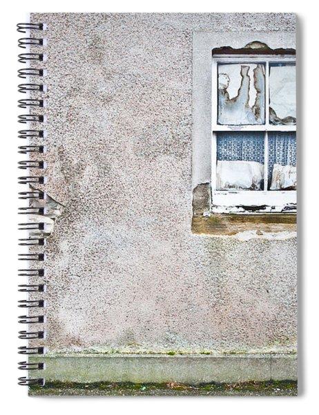 Derelict Window Spiral Notebook