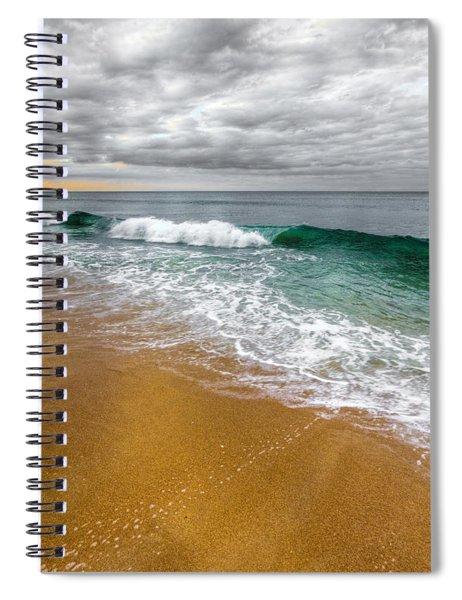 Desaturation Spiral Notebook