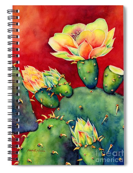 Desert Bloom Spiral Notebook