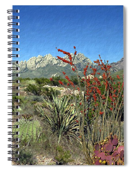 Desert Bloom Spiral Notebook