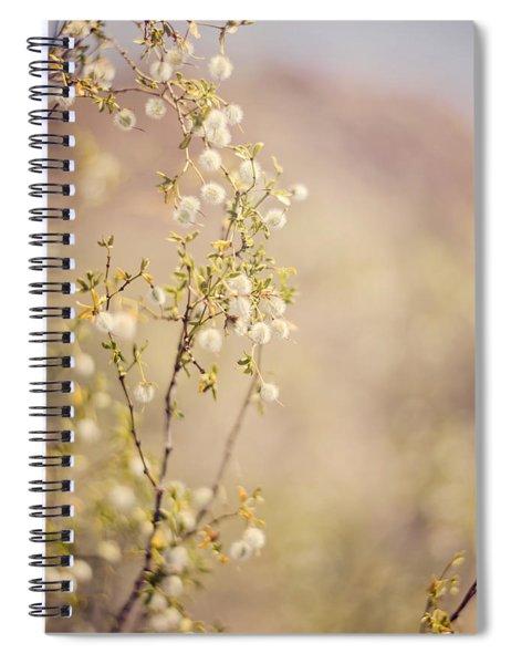 Desert Delicates Spiral Notebook
