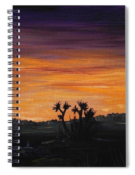 Desert Night Spiral Notebook