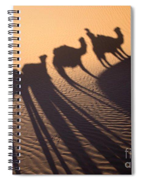 Desert Shadows Spiral Notebook