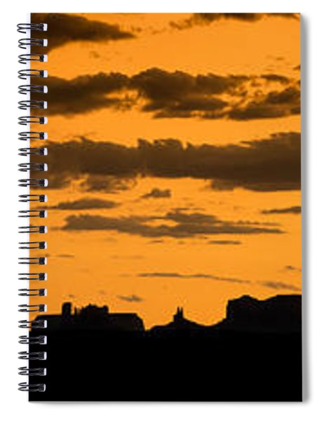 Desert Sky Panorama Spiral Notebook