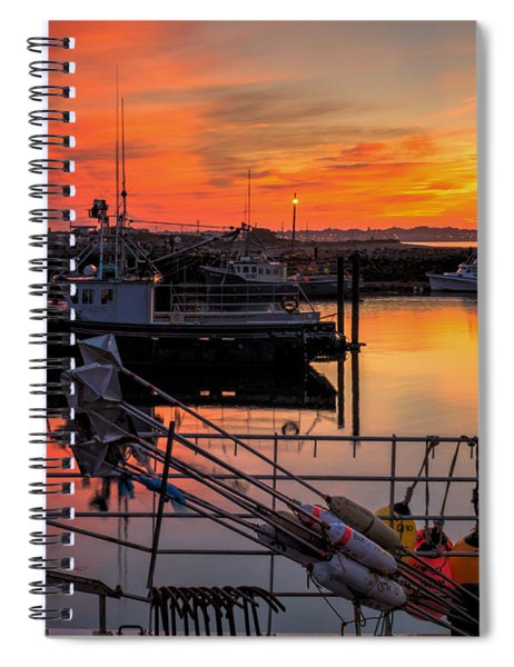 Spiral Notebook featuring the photograph Desired Haven  by Garvin Hunter