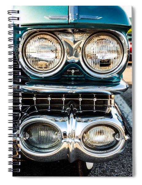 Detail - 1959 Cadillac Sedan Deville Series 62 Grill Spiral Notebook