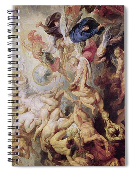 Detail Of The Last Judgement Spiral Notebook
