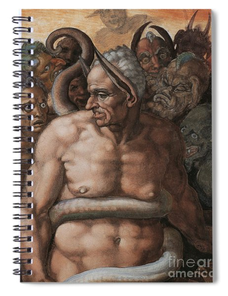 Detail Of The Last Judgment Spiral Notebook