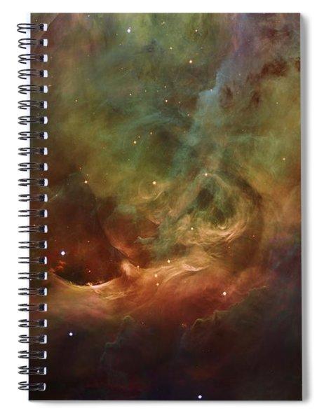 Details Of Orion Nebula Spiral Notebook