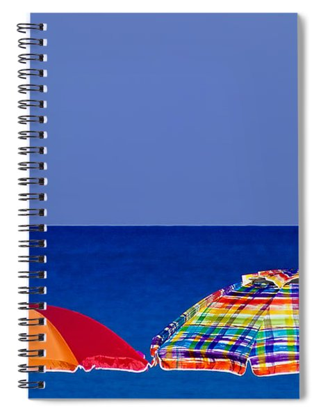 Deuce Umbrellas Spiral Notebook