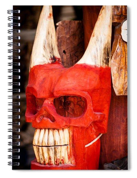 Devil In The Details Spiral Notebook
