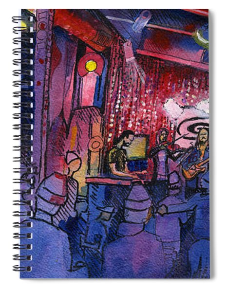Dewey Paul Band At The Goat Spiral Notebook