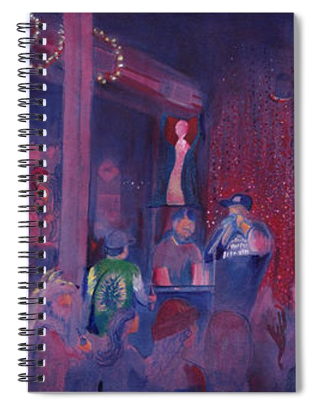 Dewey Paul Band At The Goat Nye Spiral Notebook