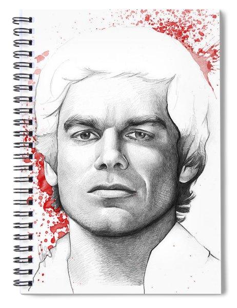 Dexter Morgan Spiral Notebook