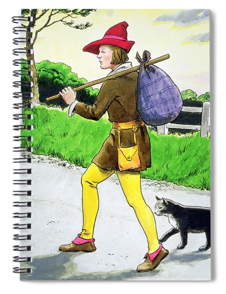 Dick Whittington And His Cat Spiral Notebook