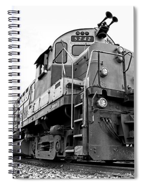 Diesel Electric Locomotive Spiral Notebook