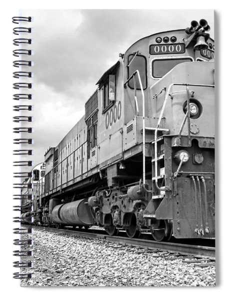 Diesel Electric Locomotives Spiral Notebook